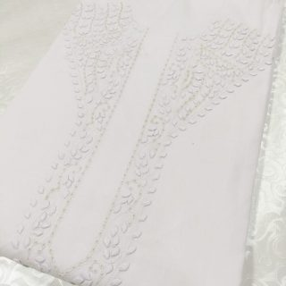Fabric Gul Ahmed Cotton 100% High Quality Cotton, White